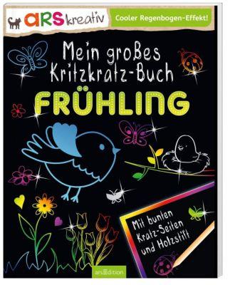 Mein großes Kritzkratz-Buch Frühling, Charlotte Stowell
