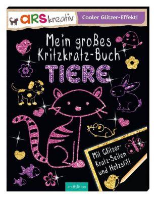 Mein grosses Kritzkratz-Buch Tiere, Charlotte Stowell