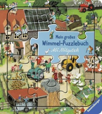 Mein grosses Wimmel-Puzzlebuch, Ali Mitgutsch