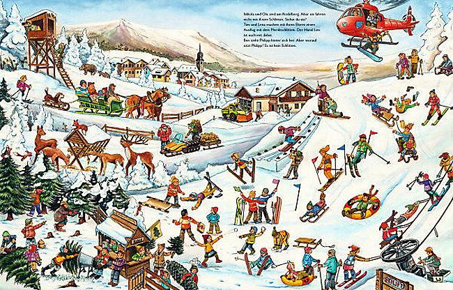 Wimmelbuch Weihnachten.Mein Großes Wimmelbuch Weihnachten Weltbild Ausgabe Bestellen