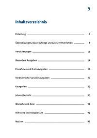 Mein Haushaltsbuch zum Eintragen - Produktdetailbild 3