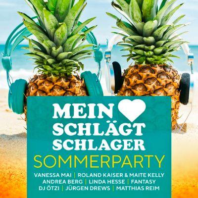 Mein Herz schlägt Schlager - Sommerparty (2 CDs), Various