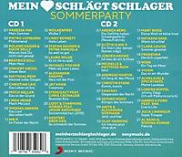 Mein Herz schlägt Schlager - Sommerparty (2 CDs) - Produktdetailbild 1