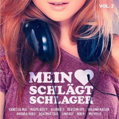 Mein Herz schlägt Schlager Vol. 3, Various