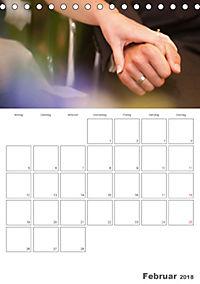 Mein Hochzeitsplaner für das ganze Jahr. (Tischkalender 2018 DIN A5 hoch) Dieser erfolgreiche Kalender wurde dieses Jahr - Produktdetailbild 2