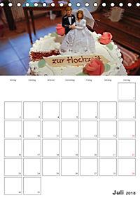 Mein Hochzeitsplaner für das ganze Jahr. (Tischkalender 2018 DIN A5 hoch) Dieser erfolgreiche Kalender wurde dieses Jahr - Produktdetailbild 7