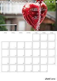 Mein Hochzeitsplaner für das ganze Jahr. (Tischkalender 2018 DIN A5 hoch) Dieser erfolgreiche Kalender wurde dieses Jahr - Produktdetailbild 6