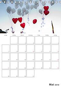 Mein Hochzeitsplaner für das ganze Jahr. (Tischkalender 2018 DIN A5 hoch) Dieser erfolgreiche Kalender wurde dieses Jahr - Produktdetailbild 5