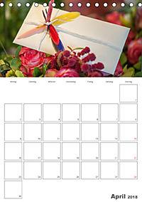 Mein Hochzeitsplaner für das ganze Jahr. (Tischkalender 2018 DIN A5 hoch) Dieser erfolgreiche Kalender wurde dieses Jahr - Produktdetailbild 4