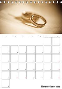 Mein Hochzeitsplaner für das ganze Jahr. (Tischkalender 2018 DIN A5 hoch) Dieser erfolgreiche Kalender wurde dieses Jahr - Produktdetailbild 12