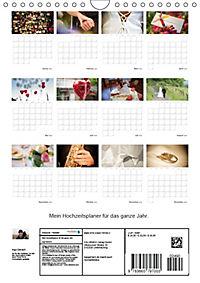 Mein Hochzeitsplaner für das ganze Jahr. (Wandkalender 2018 DIN A4 hoch) Dieser erfolgreiche Kalender wurde dieses Jahr - Produktdetailbild 13