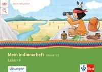 Mein Indianerheft: Lesen F 1/2