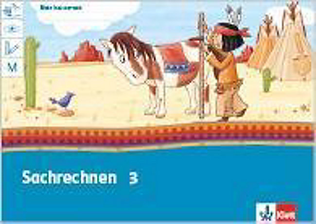 Mein Indianerheft Sachrechnen Klasse 3 Buch Weltbildde
