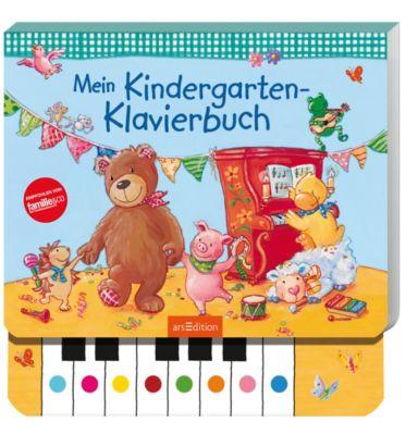 Mein Kindergarten-Klavierbuch, m. Soundeffekten