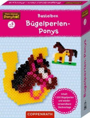 Mein kleiner Ponyhof: Bastelbox: Bügelperlen-Ponys -  pdf epub