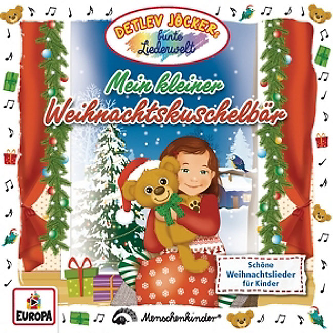 Weihnachtslieder Für Kleinkinder.Mein Kleiner Weihnachtskuschelbär Von Detlev Jöcker Weltbild De