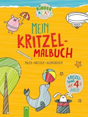 Mein Kritzel-Malbuch