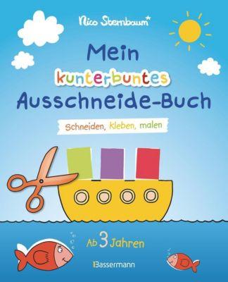 Mein kunterbuntes Ausschneide-Buch - Nico Sternbaum |