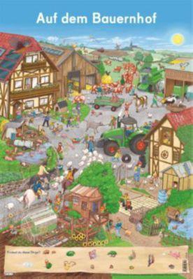 Mein Lernposter: Auf dem Bauernhof