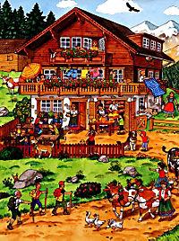 Mein liebstes Bauernhof-Wimmelbuch - Produktdetailbild 2
