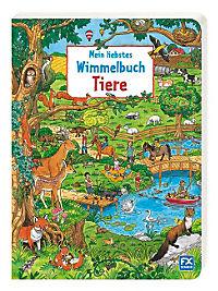 Mein liebstes Wimmelbuch Tiere - Produktdetailbild 1