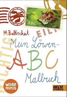 Mein Löwen-ABC Malbuch, Martin Baltscheit