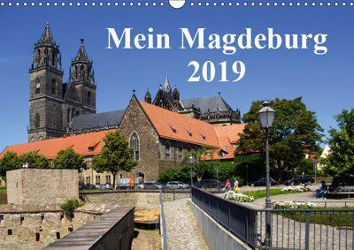 Mein Magdeburg 2019 (Wandkalender 2019 DIN A3 quer), Beate Bussenius