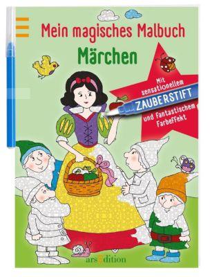 Mein magisches Malbuch Märchen