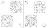 Mein Mega-Malspass Mandalas - Produktdetailbild 4