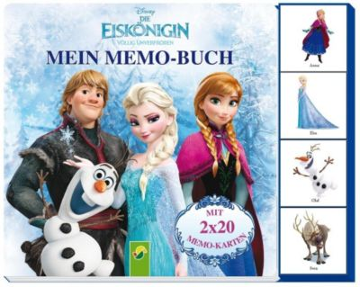 Mein Memo-Buch - Disney Die Eiskönigin - Völlig unverfroren, Walt Disney