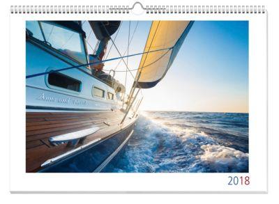 Mein Name Panoramakalender A3 2018