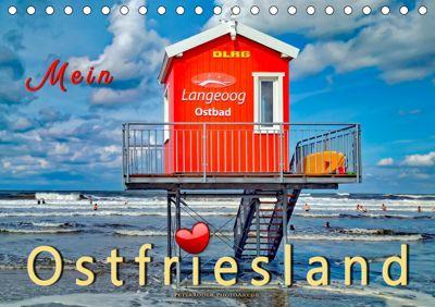 Mein Ostfriesland (Tischkalender 2019 DIN A5 quer), Peter Roder