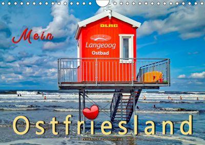 Mein Ostfriesland (Wandkalender 2019 DIN A4 quer), Peter Roder