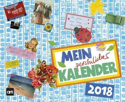 Mein persönlicher Kalender 2018, Gabi Kohwagner