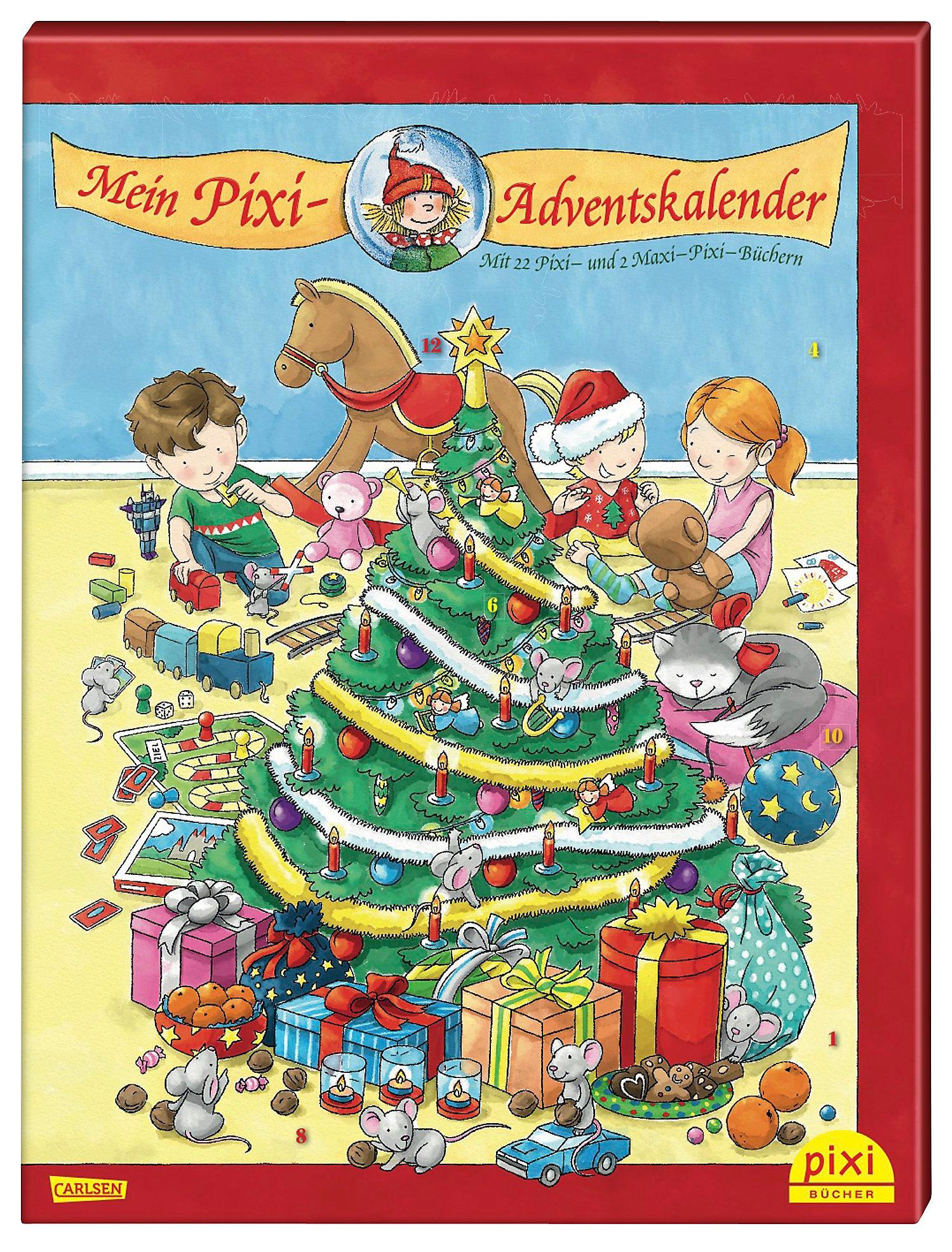Mein Pixi Adventskalender - 22 Pixi und 2 Maxi Pixi Bücher Buch