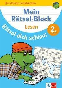 Mein Rätsel-Block Rätsel dich schlau! Lesen 2. Klasse