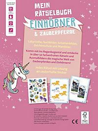 Mein Rätselbuch Einhörner & Zauberpferde - Produktdetailbild 1