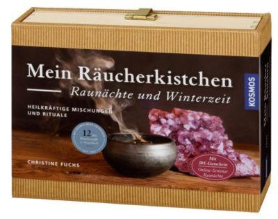 Mein Räucherbuch Raunächte und Winterzeit - Christine Fuchs  