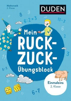 Mein Ruckzuck-Übungsblock Einmaleins 2. Klasse -  pdf epub