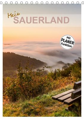 Mein Sauerland-Terminplaner (Tischkalender 2019 DIN A5 hoch), Heidi Bücker