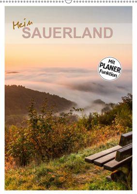 Mein Sauerland-Terminplaner (Wandkalender 2019 DIN A2 hoch), Heidi Bücker