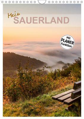 Mein Sauerland-Terminplaner (Wandkalender 2019 DIN A4 hoch), Heidi Bücker