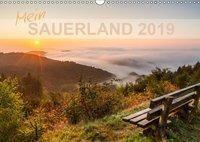 Mein Sauerland (Wandkalender 2019 DIN A3 quer), Heidi Bücker