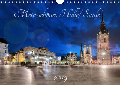 Mein schönes Halle/ Saale 2019 (Wandkalender 2019 DIN A4 quer), Oliver Friebel