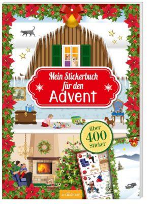 Mein Stickerbuch für den Advent, Ingrid Bräuer