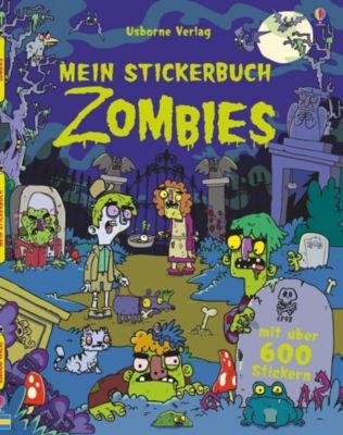 Mein Stickerbuch: Zombies, Kirsteen Robson