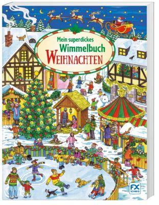 Mein superdickes Wimmelbuch: Weihnachten -  pdf epub