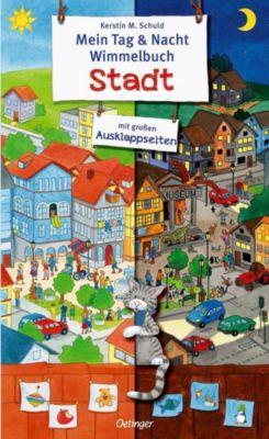 Mein Tag & Nacht Wimmelbuch Stadt, Kerstin M. Schuld