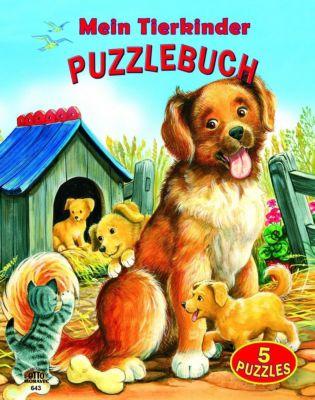 Mein Tierkinder Puzzlebuch