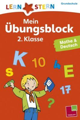 Mein Übungsblock 2. Klasse, Mathe & Deutsch - Birgit Fuchs pdf epub